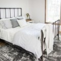 rustic farmhouse guest bedroom