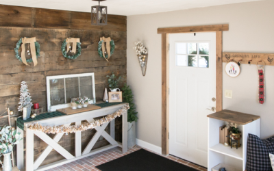 Holiday Home Tour Blog Hop | The Entryway
