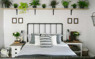 One Room Challenge Week Seven: Rustic Industrial Guest Bedroom Final Reveal
