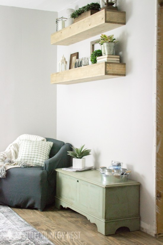 Cozy nook seating corner