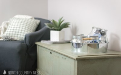 One Room Challenege Week Five: Wood Bench Makeover