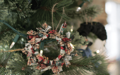 DIY Mason Jar Rustic Ornament
