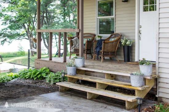 simple front porch decor