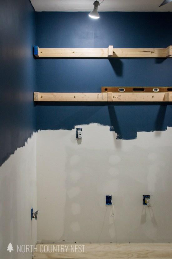 floating shelves base