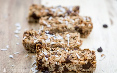 Gluten Free Chewy Oatmeal Chocolate Chip Granola Bars