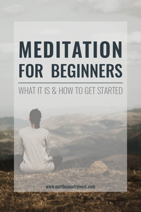 meditation for beginners graphic