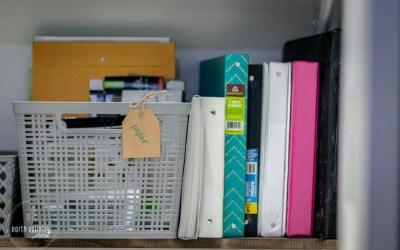 Office Closet Reveal + Organization Ideas