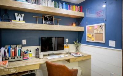 DIY Office Cork Board