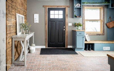 An Unexpected Renovation: The Entryway Reveal