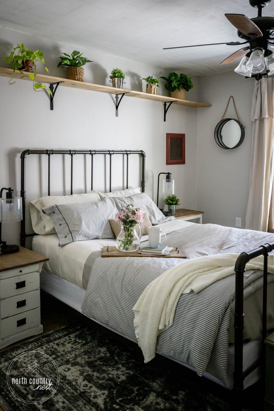 spring bedroom decor