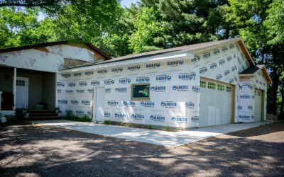 An Update on the Garage + Insulation and Drywall