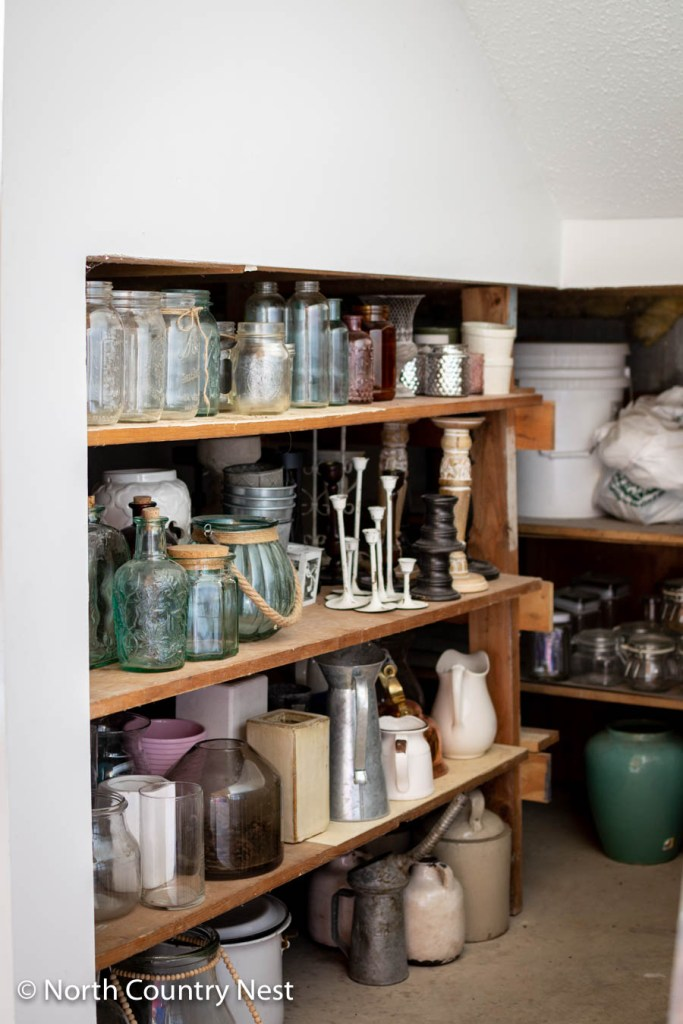Under the Stairs Storage for Home Decor Items