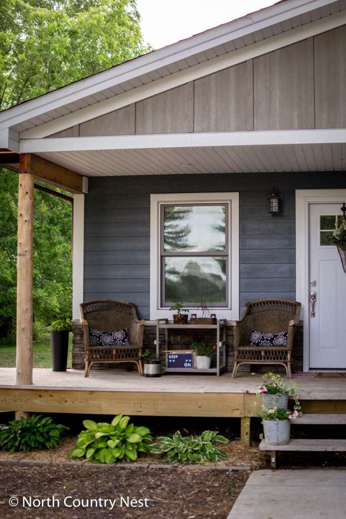 Summer Front Porch Decor | North Country Nest