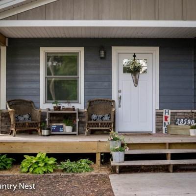 Front Porch Summer Decor