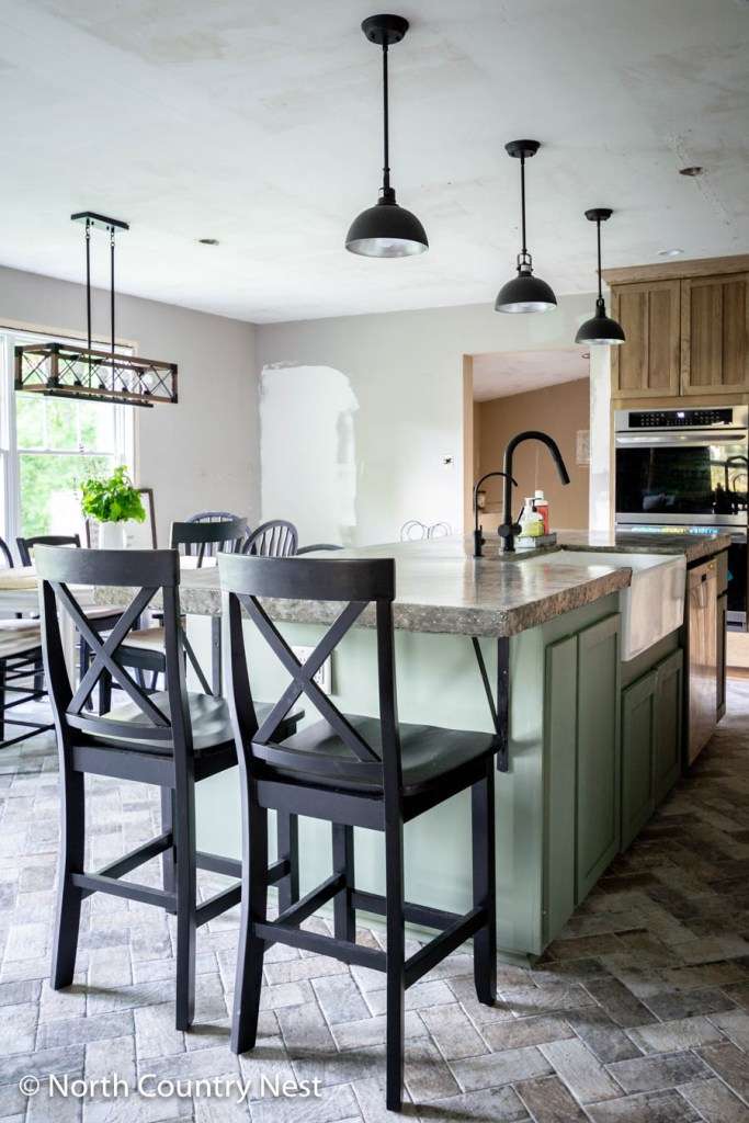 Rustic Kitchen Renovation | North Country Nest