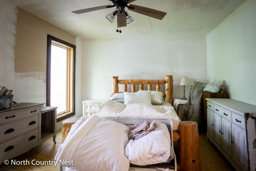 Guest bedroom before | North Country Nest