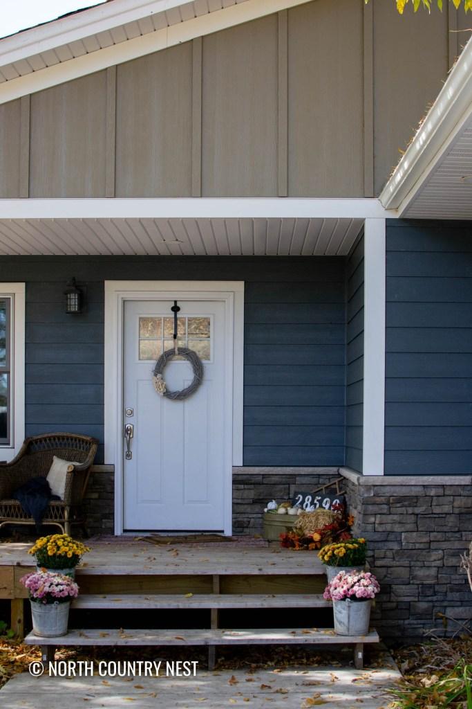 fall front porch home decor ideas