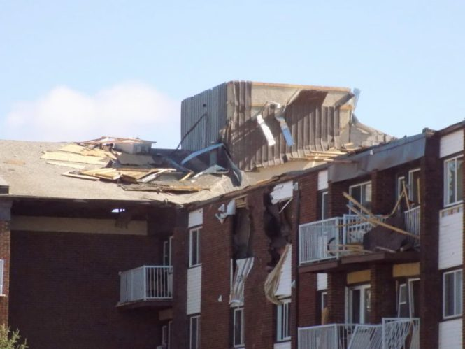Residents Recover From Tornado Damage