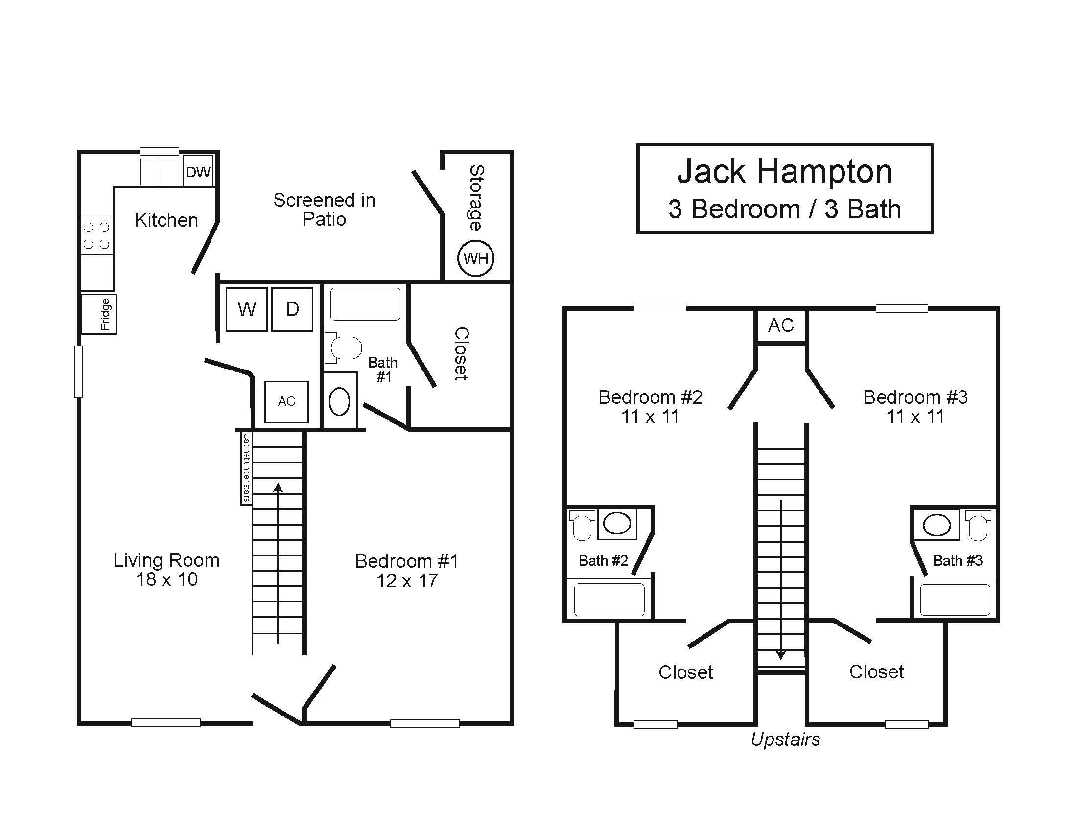 Jack Hampton Duplexes 3 3 Northcutt Realty