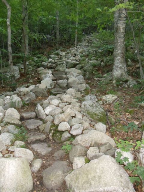The Baldpate Table Rock trail.