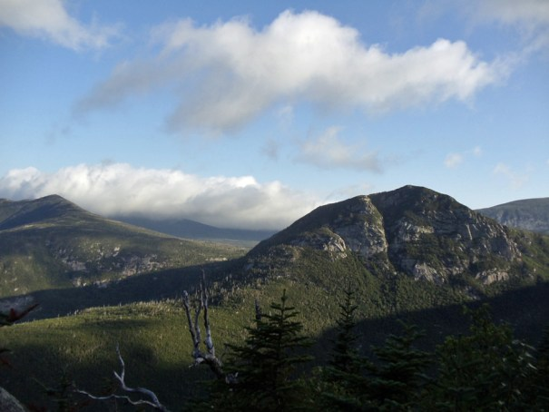 Katahdin view of The Owl from the Maine Appalachian Trail, also the Hunt Trail