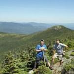 East Peak of Goose Eye Mountain on Maine Appalachian Trail hike