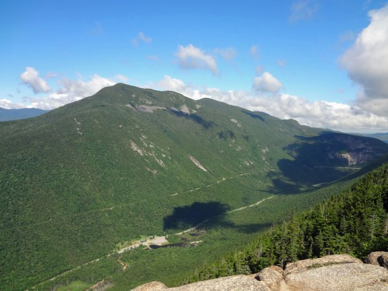 Mt. Webster View of Mt. Willard on NH Appalachian Trail