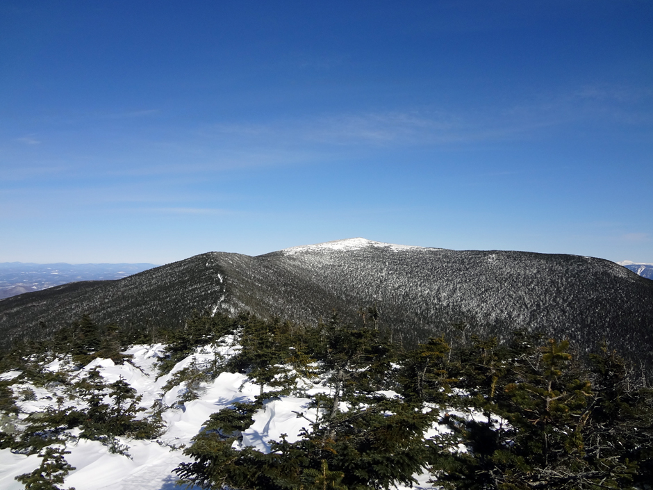 Mt Moosilauke Summit As Viewed From The South Peak