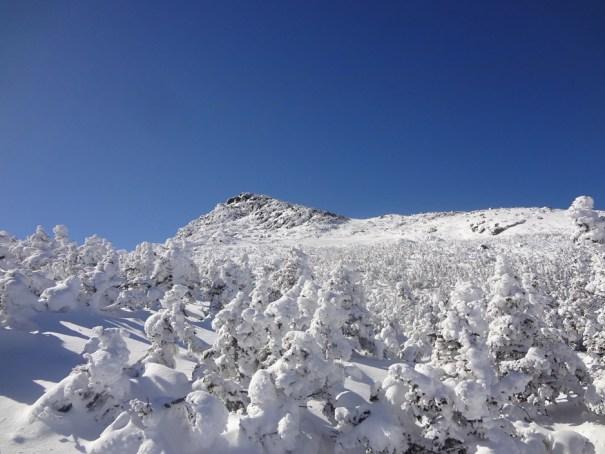 Winter Hiking Mount John Quincy Adams