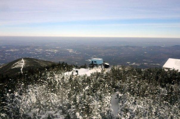 Cannon Mountain Ski Lift