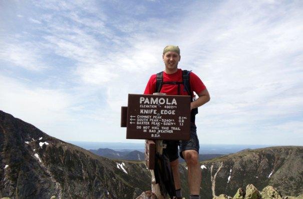 Katahdin Pamola Peak