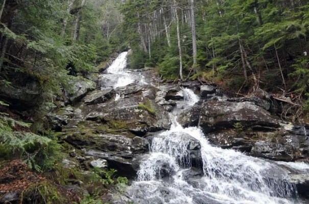 Moosilauke Beaver Brook Waterfall 4