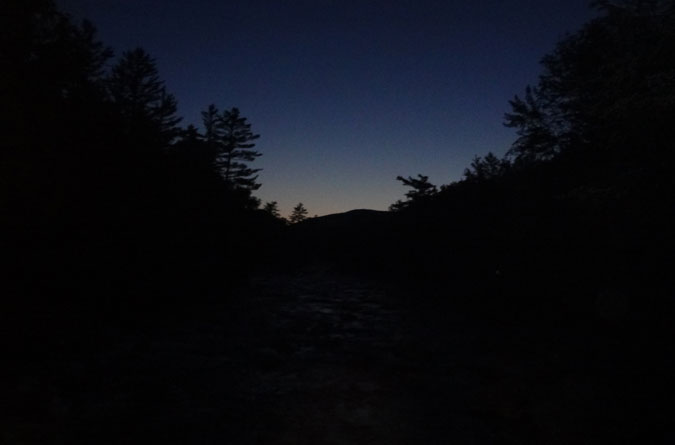 Dawn on the Pemigewasset Wilderness