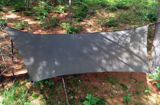 hammock rain tarp