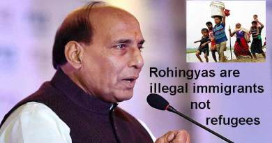 Rohingyas are illegal immigrants not refugees- Rajnath singh