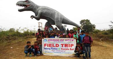 Assam: Bridge of Hope organised field trip for children