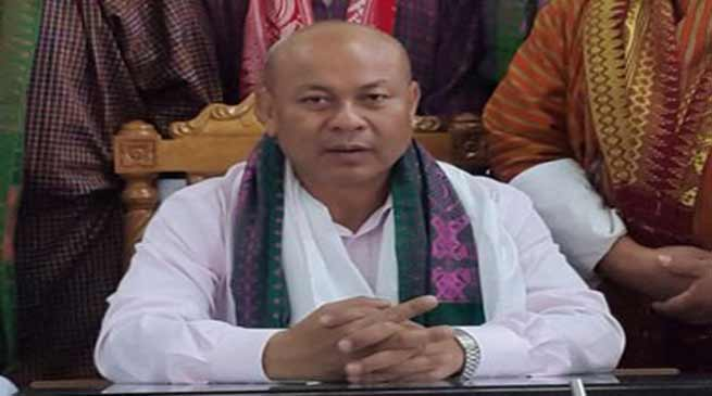 Assam: Non Tribal can not buy land in BTC- Hagrama Mohilary