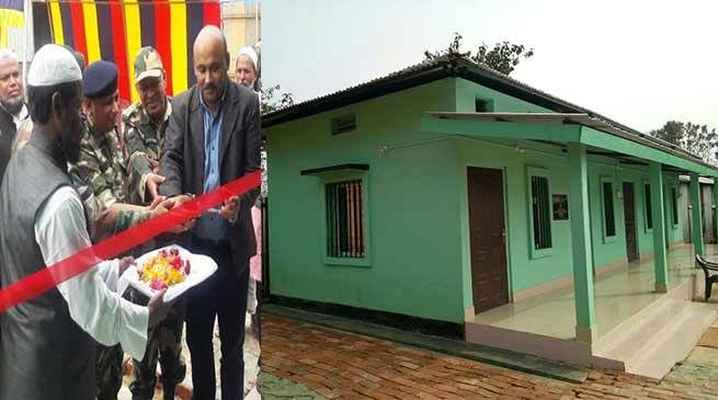 Assam: Army dedicates Shelter to Girls Orphanage in Dhubri