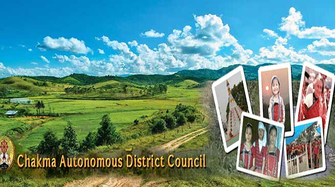 Mizoram : Governor suspends Chakma Autonomous District Council
