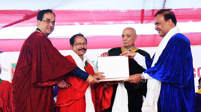 Assam: Kaziranga University conducts its 4th Annual Convocation