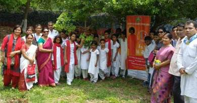 Earth Day, Sri Sathya Sai Seva Samithi , Tree Plantation , Guwahati