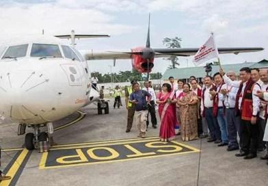 Arunachal: Alliance air starts commercial flight from Pasighat
