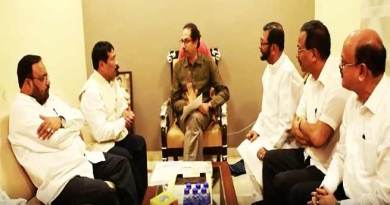 Assam:  AGP delegation meet Shivsena chief Uddhav Thackeray