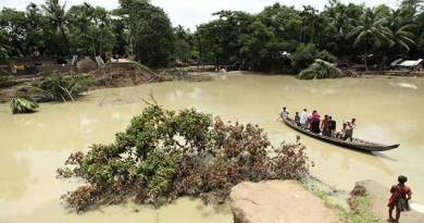 Assam:Flood waters recede in Hailakandi, people leave relief camps