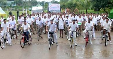 Assam: BSF celebrates International day against drug abuse and illegal trafficking