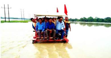 Assam Flood: NF Railway runs Relief Sorties on Trolleys in Flood-Hit areas