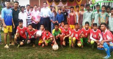Assam:  Hailakandi inter-school football tournament