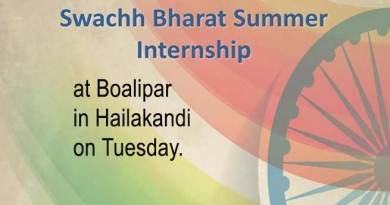 Assam: Orientation on Swacch Bharat Summer Internship in Hailakandi