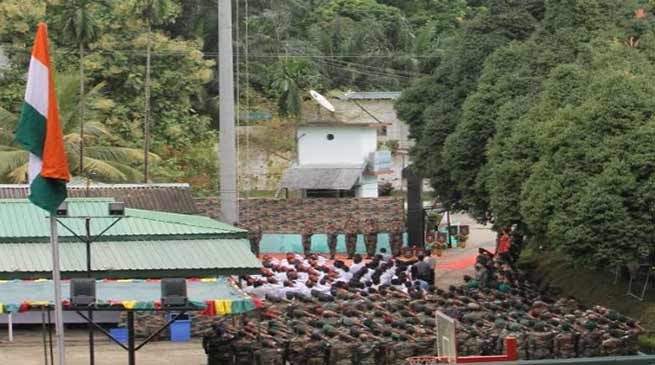 Mizoram : CIJW school celebrates 72nd I-Day