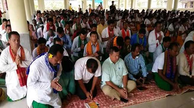 Assam: Mass prayers for success of Archer Pramila Daimary at Asian Games